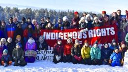 Klima-Demo am Polarkreis mit Greta Thunberg