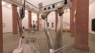 Mehr Kunst wagen: An der Städelschule in Frankfurt zeigen Studenten regelmäßig ihre Werke.
