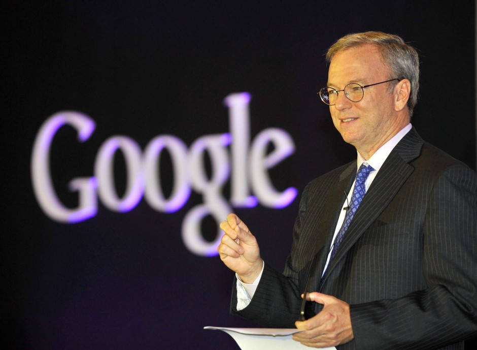 Eric Schmidt as Google/Alphabet Chairperson.