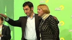 Claudia Roth und Cem Özdemir wiedergewählt