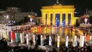 Die Welt feiert 20 Jahre Mauerfall
