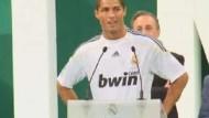 Christiano Ronaldo in Madrid gefeiert