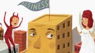 Im Berufsalltag gibt es immer wieder schwierige Entscheidungen zu treffen. Wirtschaftsethik hilft, sich richtig zu entschließen.