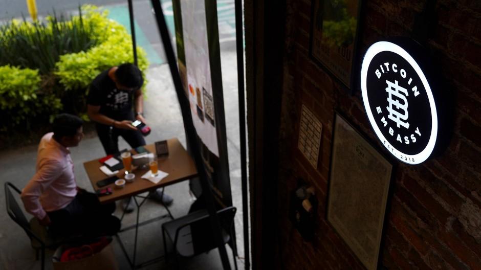 Bitcoin Embassy Bar in Mexiko-Stadt