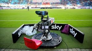 Sky hat auf dem Fußballplatz viel zu verlieren