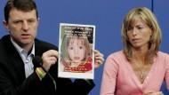Verzweifelter Aufruf: Seit über zehn Jahren suchen die McCanns erfolglos nach ihrer Tochter.