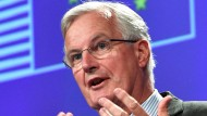Festgefahrene Verhandlungen: EU-Chefunterhändler Michel Barnier