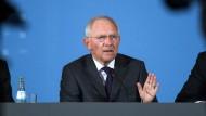 Fürchtet, dass Europa seine Verhandlungsposition gegenüber Drittstaaten schwächen könnte: Finanzminister Wolfgang Schäuble