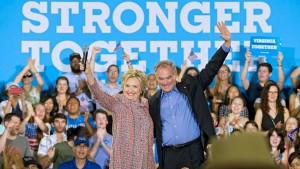Clinton erklärt Senator Tim Kaine zu ihrem Vize