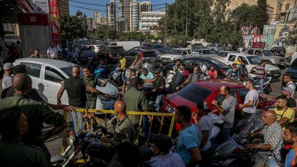 Staatliche Stromversorgung in Libanon zusammengebrochen