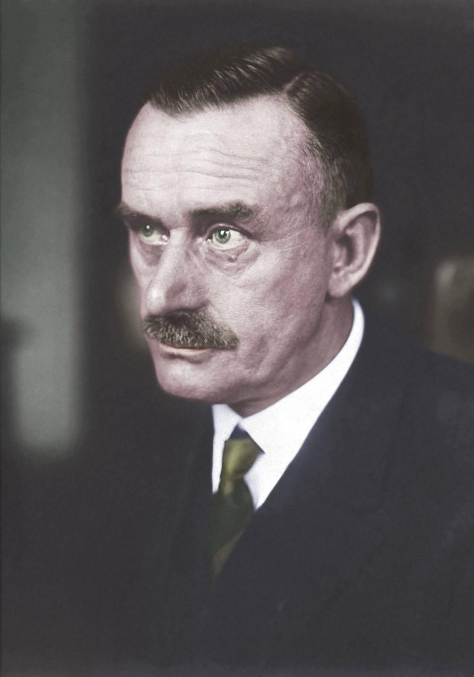 """Mit seiner """"Deutschen Ansprache"""" reagierte Schriftsteller Thomas Mann auf das Ergebnis der Reichstagswahl 1930."""