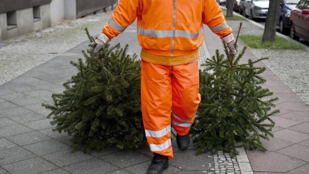 Jugendfeuerwehren sammeln keine Weihnachtsbäume ein