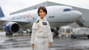 ESA-Barbie wirbt für mehr Astronautinnen