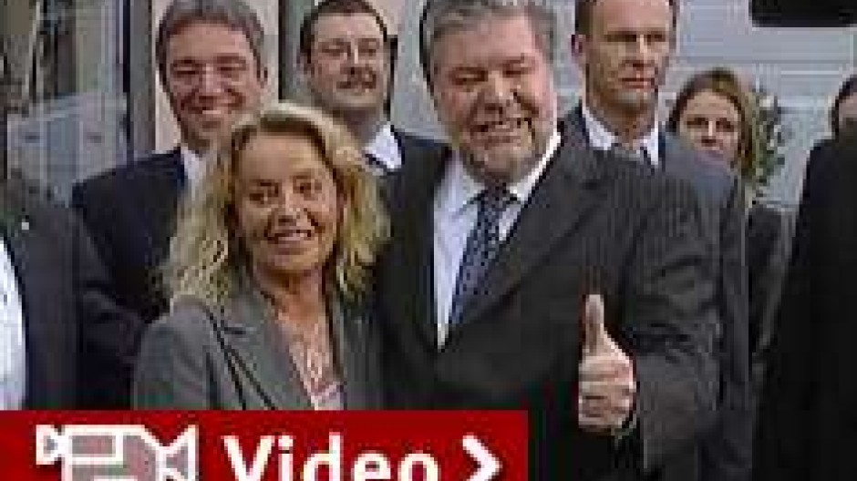 Beifall für Beck, Böhmer und Oettinger