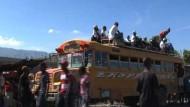 Massenflucht aus Port-au-Prince