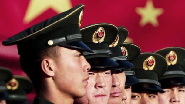 China stockt abermals Verteidigungshaushalt auf