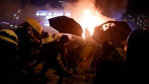 Neue Gewaltwelle in Hongkong
