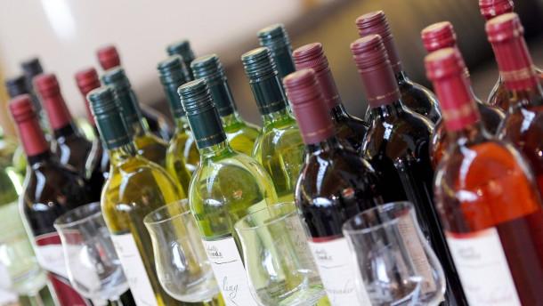 Es wird wieder mehr Wein getrunken