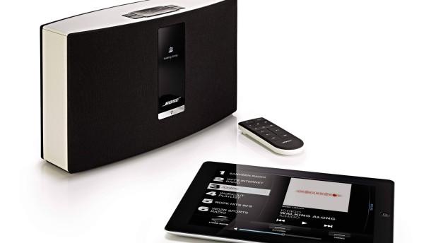 bose soundtouch 20 heimvernetzt mit w lan und airplay audio video faz. Black Bedroom Furniture Sets. Home Design Ideas