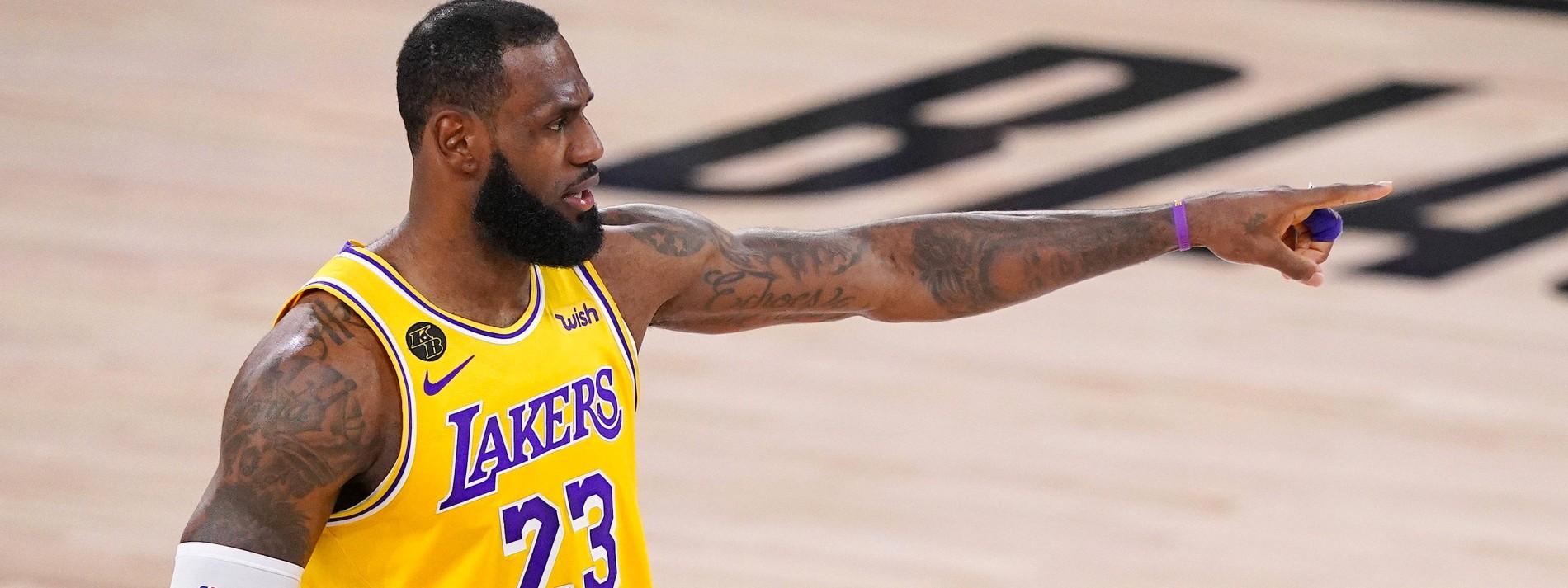 LeBron James führt die Lakers in Richtung Titel