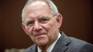 Schäuble warnt vor Populismus