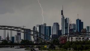 Meteorologen erwarten schwere Gewitter