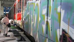 Hessens Polizei geht gegen Sprayer vor