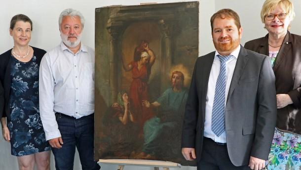 Gestohlenes Gemälde nach über 45 Jahren wieder aufgetaucht