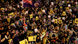 Polizei verbietet Großkundgebung in Hongkong