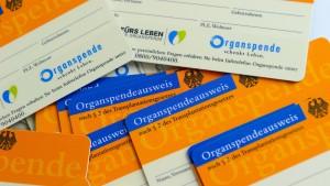 Bereitschaft zur Organspende wächst