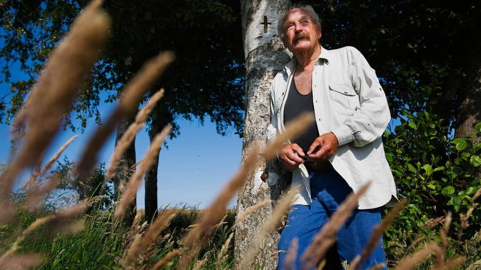 Walter Kaufmann, hier im Jahr 2010 in Born am Darss