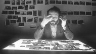 Das Bild im Blick: Self-Portrait at Light Table, 1984.
