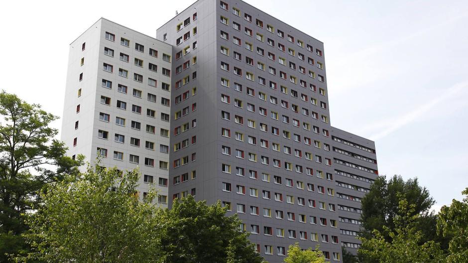Praktisch ausgebucht: Studentenwohnheim an der Ginnheimer Landstraße in Frankfurt