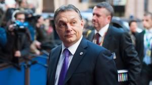 Orbán räumt auf