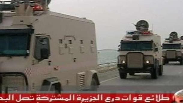 Militär übernimmt Kontrolle in Bahrein
