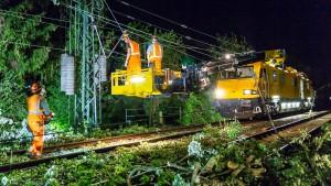 Sturmböen fegen über Hessen