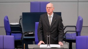 Lammert kandidiert nicht mehr für den Bundestag