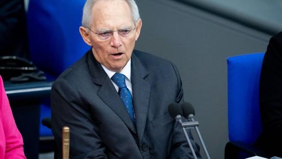 Schäuble fordert Kampf gegen Rechtsextremismus