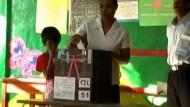 Präsidentenwahl in Sri Lanka
