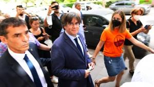 Puigdemont lässt sich auf Sardinien nach Freilassung feiern