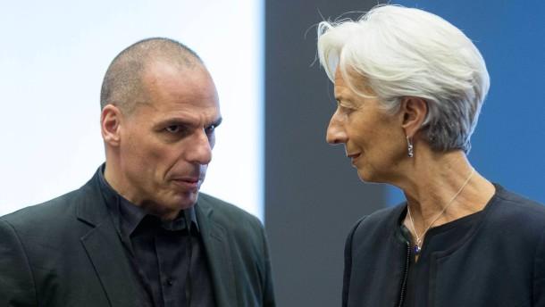 IWF: Griechenland braucht weitere 50 Milliarden Euro