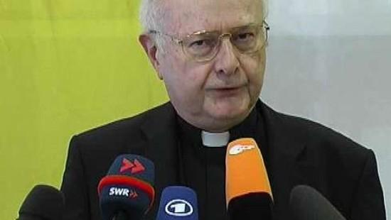 Erzbischof  Zollitsch verlangt Entschuldigung von Williamson