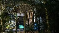 Ort der Tragödie: ein Gartenhaus im unterfränkischen Arnstein