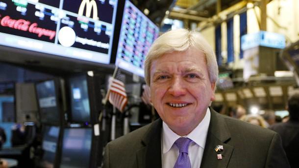 Bouffier wirbt in New York für Finanzplatz Frankfurt