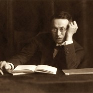 Nicht der einzige Promi im Charlottenburger Studio: Schriftsteller Karl Kraus ließ sich von Charlotte Joël fotografieren.