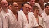 Putin zeigt seine Judo-Künste