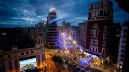 Vorfahrt für Fußgänger in Madrid