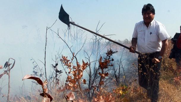 Boliviens Präsident fordert mehr Klimaschutz