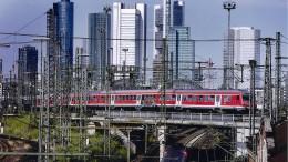 Defektes Gleis behindert S-Bahnverkehr in Frankfurt