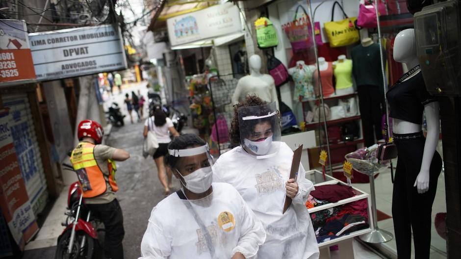 Mehr als 150.000 Corona-Tote in Brasilien